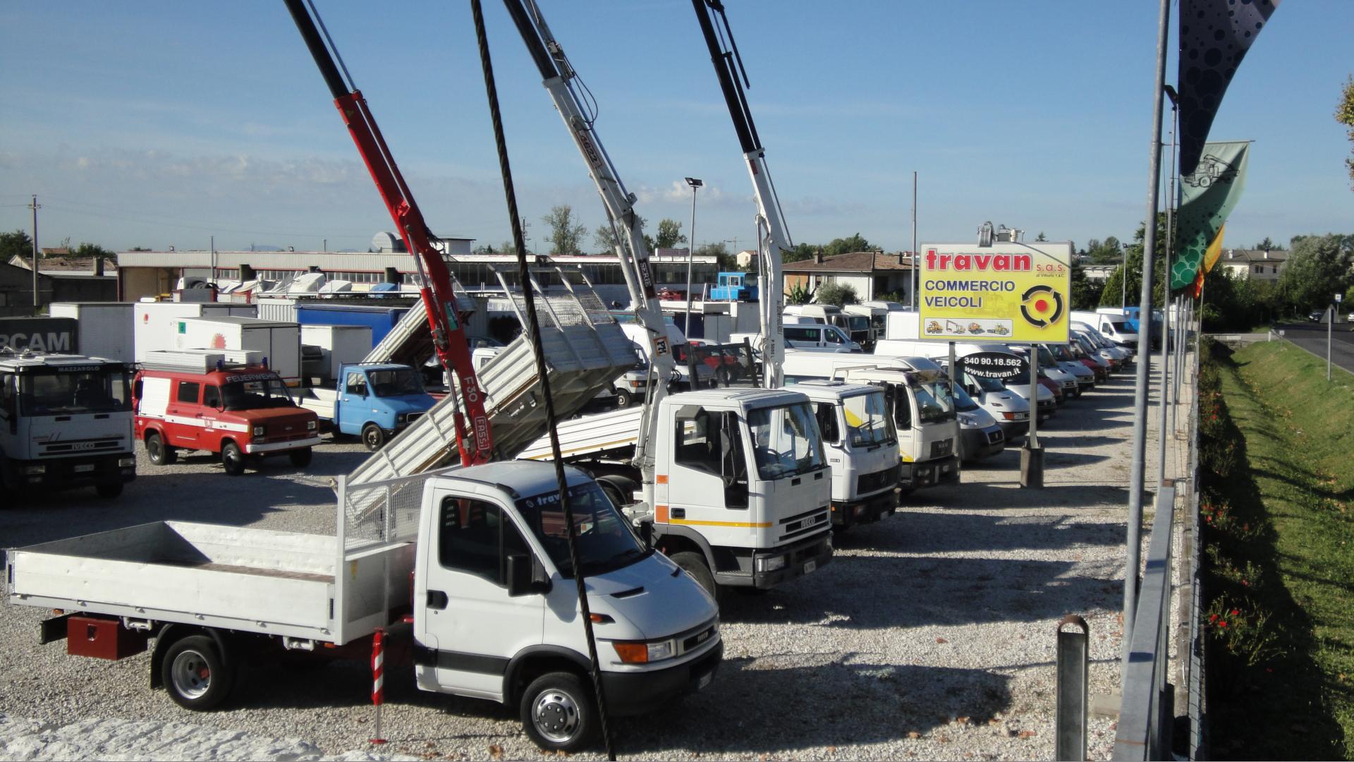 Travan sas di Vittorio Travan - San Zenone degli ezzelini Treviso - Commercio veicoli industrili e commerciali, soprattutto usati